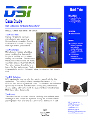 case study for hightone electronics inc Case study the modern world has a big electronics habit and it's getting bigger all the time electronic devices keep us connected and on the go, but when they break or.